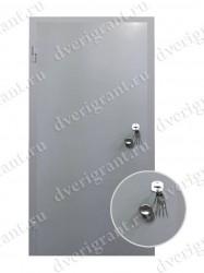 Строительная дверь - модель 23-005