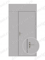 Строительная дверь - модель 23-006