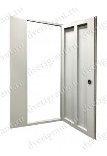 Металлическая дверь для подъезда 24-38
