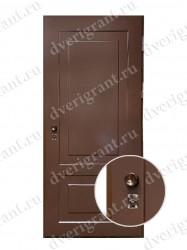 Металлическая входная дверь 24-50