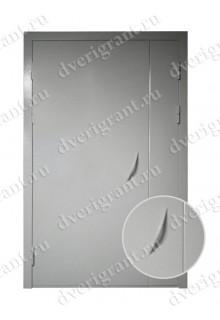 Металлическая дверь для подъезда 24-55
