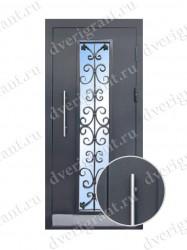 Металлическая входная дверь 24-67