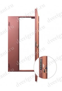 Металлическая дверь - модель - 11-004