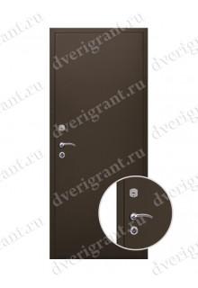 Внутренняя металлическая дверь - модель - 09-009