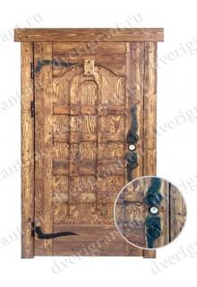 Входная металлическая дверь - 10-67