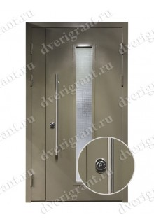 Нестандартная входная дверь на заказ 10-72