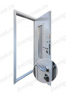 Нестандартная входная дверь на заказ 10-76
