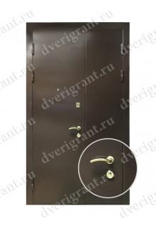 Нестандартная входная дверь на заказ 10-77