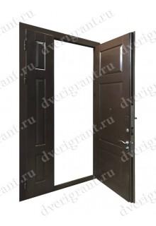 Нестандартная входная дверь на заказ 10-79