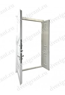 Нестандартная входная дверь на заказ 10-81