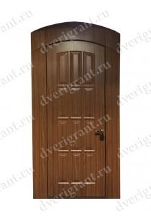 Нестандартная входная дверь на заказ 10-83