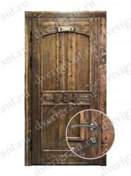 Входная дверь на заказ 10-91