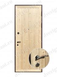 Металлическая дверь для дачи - 13-007