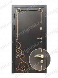 Входная металлическая дверь - 13-012