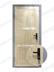 Металлическая дверь для дачи - 13-017