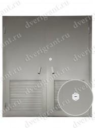 Входная металлическая дверь - 13-018