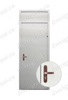 Металлическая нестандартная дверь - модель - 14-019