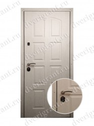 Внутренняя дверь в квартиру с тепло-шумоизоляцией - модель 17-033