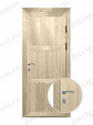 Металлическая дверь для дачи -18-017