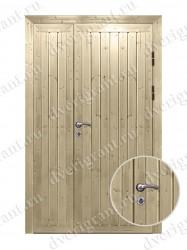Дверь с отделкой вагонка - модель 18-021