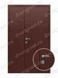 Дверь с отделкой вагонка - модель 18-025