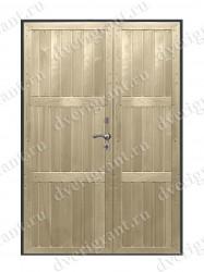 Дверь с отделкой вагонка - модель 18-028
