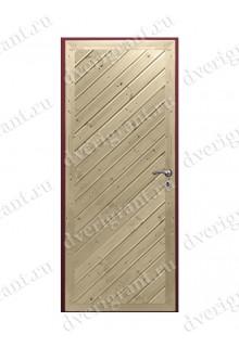 Металлическая дверь для дачи - 18-029