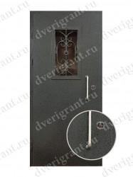 Металлическая дверь - 19-015