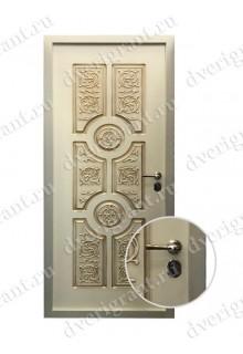 Металлическая дверь - модель - 15-16