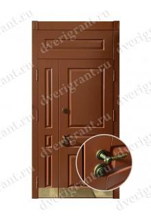 Двустворчатая металлическая дверь 22-001