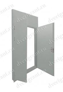 Металлическая дверь - модель - 23-038