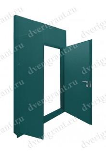 Металлическая дверь - модель - 23-040