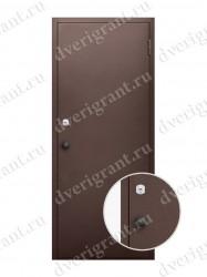 Металлическая дверь для бани - модель МДБ-002