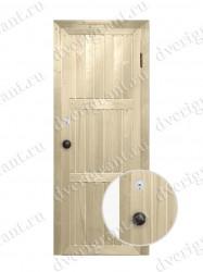 Металлическая дверь для бани - модель МДБ-005