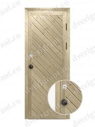 Металлическая дверь для бани - модель МДБ-006