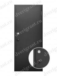 Металлическая дверь для бани - модель МДБ-007