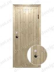 Металлическая дверь для бани - МДБ-013