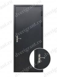 Металлическая дверь для бани - модель МДБ-016
