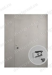 Металлическая дверь - модель - 05-008