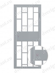 Тамбурная дверь - 10-016