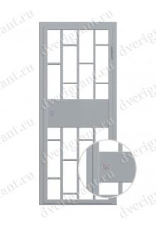 Металлическая дверь - модель - 10-016