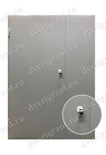 Металлическая дверь - модель - 15-17