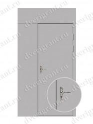 Тамбурная дверь - 10-60